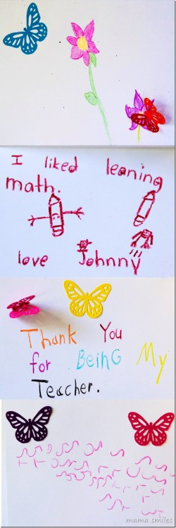 Small Of Thank You Cards For Teachers