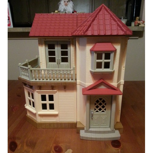 Medium Crop Of Calico Critters House