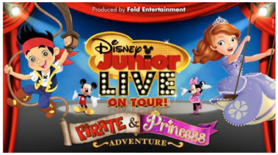 Disney Junior Live Pirate And Princess