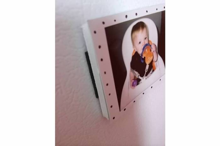 Mini Polaroid Magnet