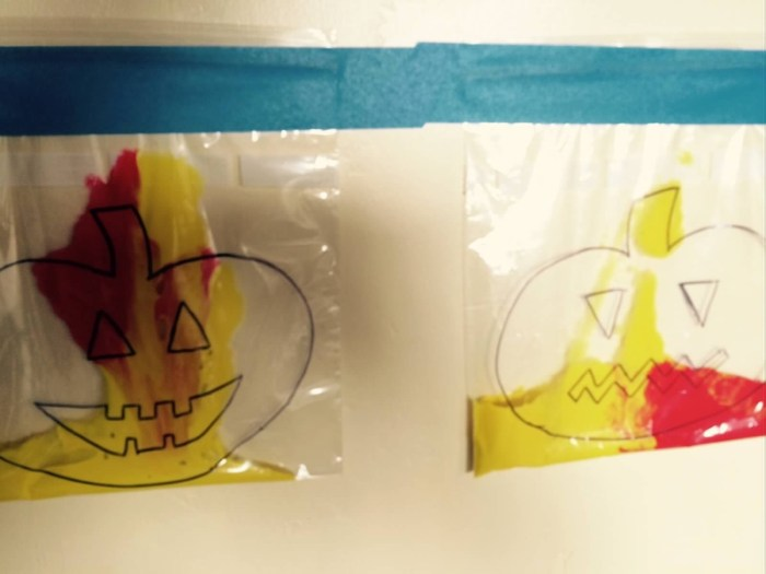 Pumpkin Painting in Bags