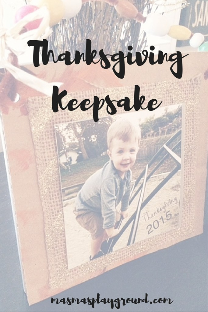 Thanksgiving Keepsake