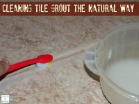 Cleaning Tile Grout The Natural Way