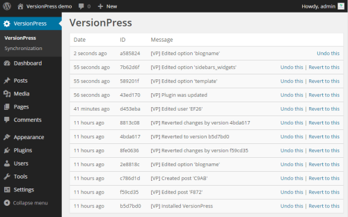 versionpress-wordpress-plugin