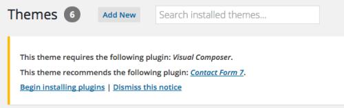 wordpress theme plugins