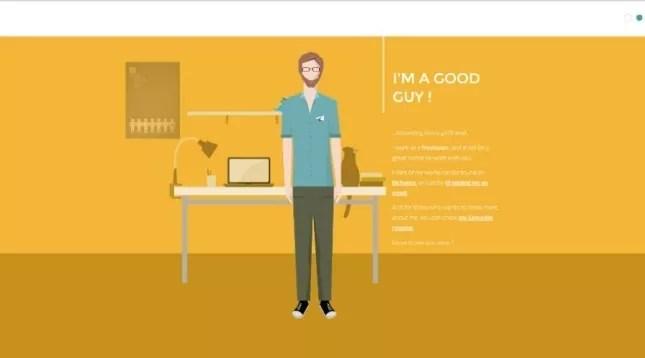 Creative Interactive Resume Designs - mameara