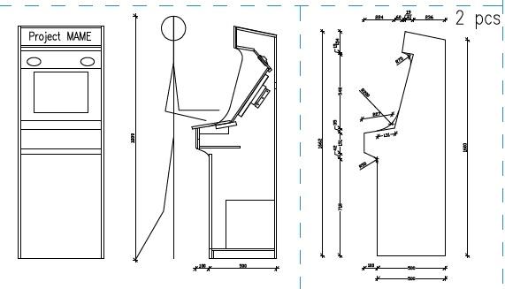 Rosewood And Hardwood Walking Sticks Arcade Cabinet Plans