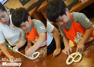 Becoming a Kiddie Chef at Brotzeit