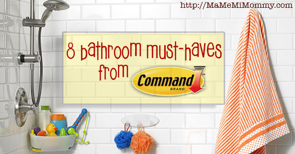 8 Bathroom Must-Haves from Command