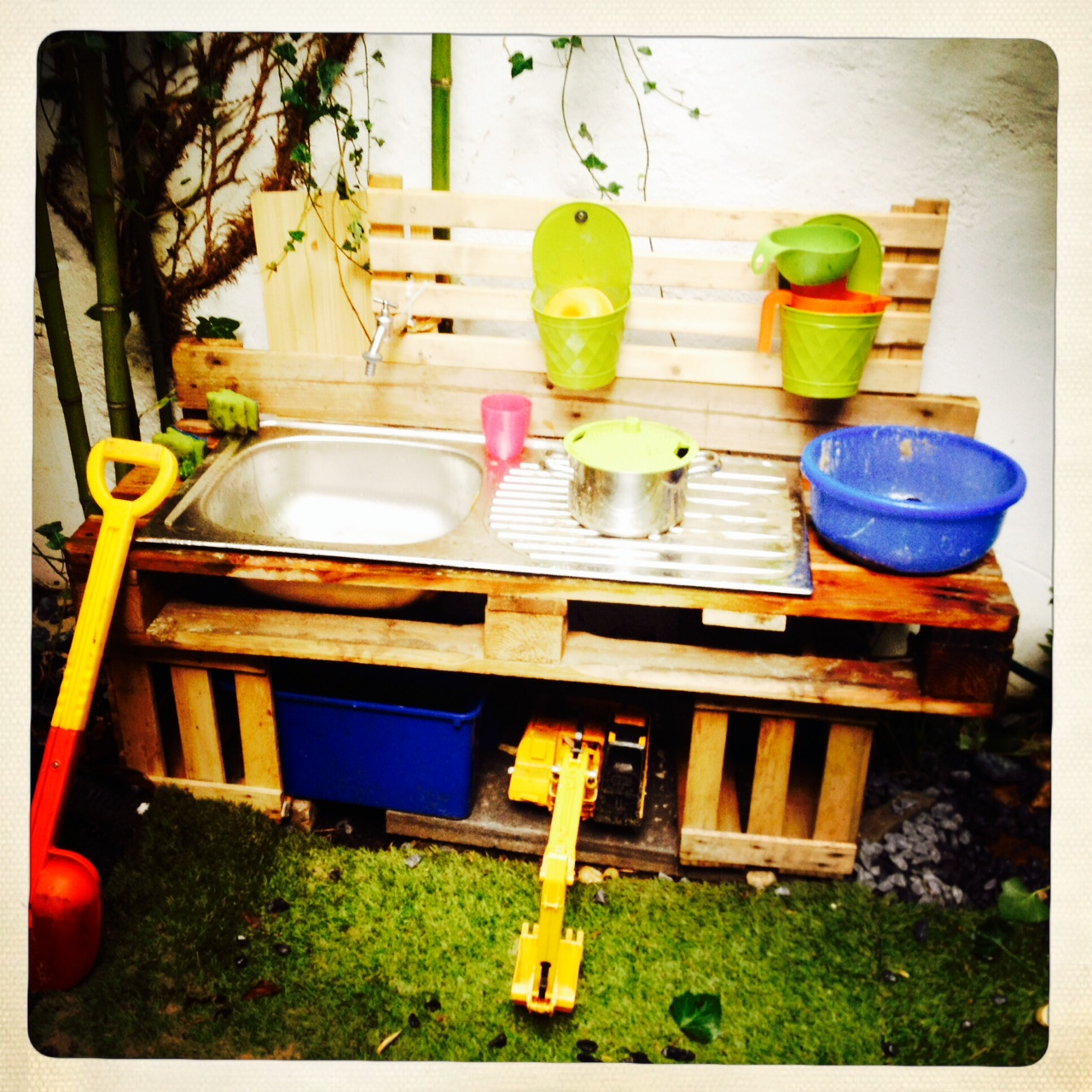 Outdoor Küche Obstkisten Outdoor Küche Kinder Diy ᐅ Matschküche Selber Bauen Aus