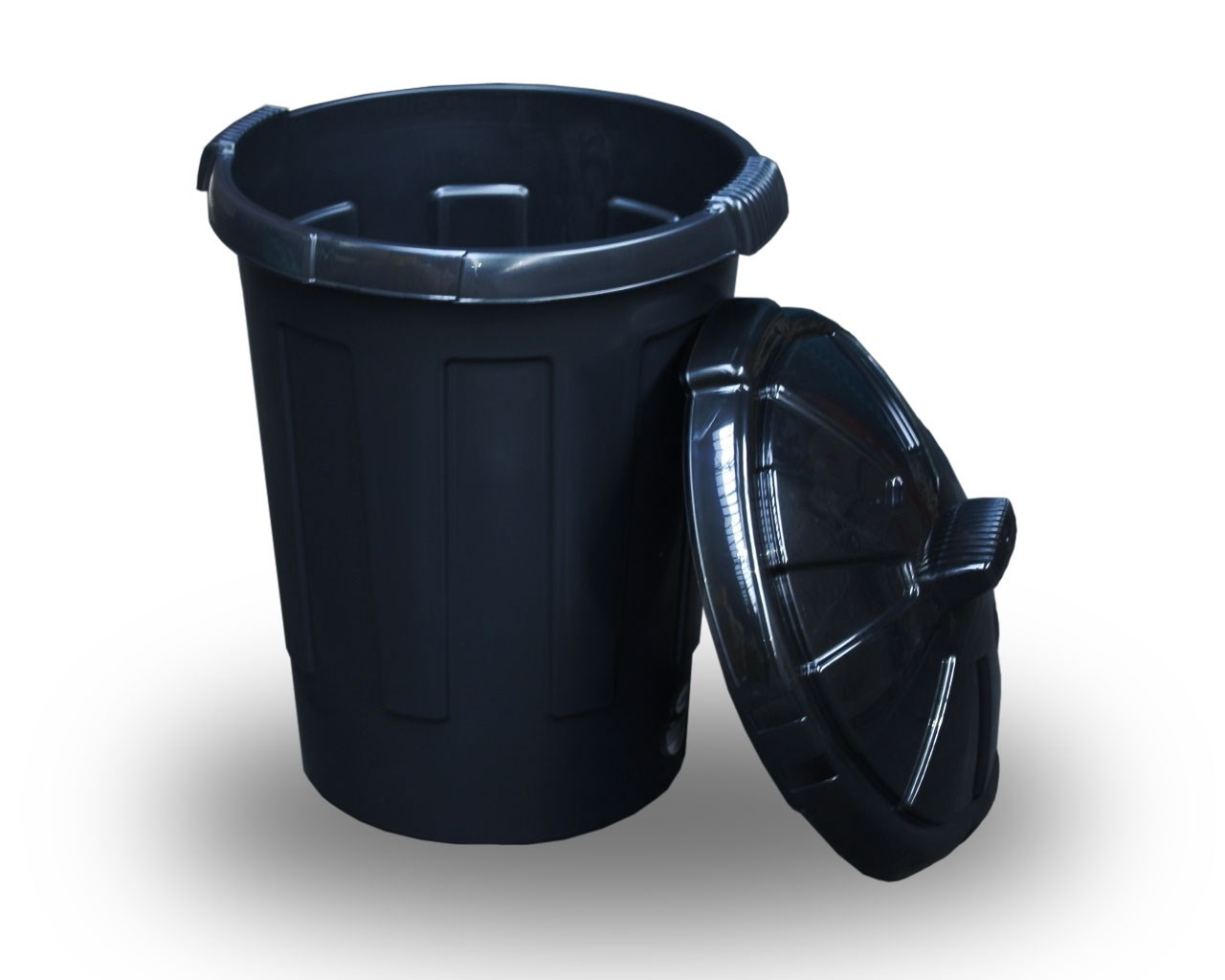 Black Dust Bin 80 Litres Bentley Brushware Bls535