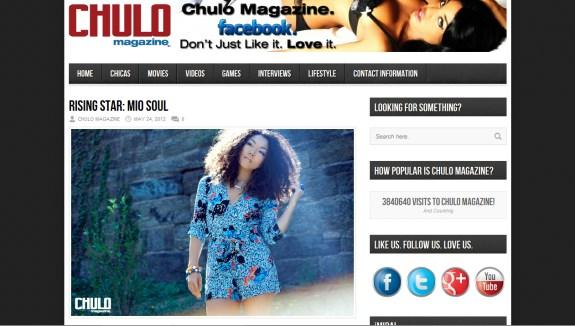 Mio Soul in Chulo Magazine