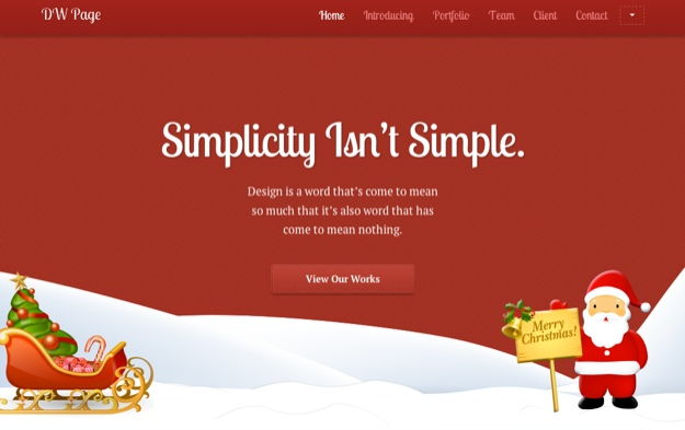 6 Festive WordPress Themes for Christmas - ManageWP - christmas themes images