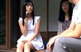純粋なキレイな黒髪女子校生が叔父に夜這いされ処女喪失!顔精子と膣内射精で未熟な体を開発され大人の快感を知る初体験の夏休み。星奈あい