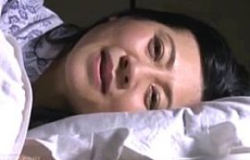 ババア熟女教師が閉経女陰にザーメンを流し込まれビクビク痙攣w吉永静子