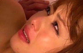 セクロスで涙を流す本能SEX!汗だくでガクガク痙攣マジイキまくる美人!吉沢明歩