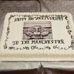 Our building turns 100+ and residents celebrate with a cake, entertainment and a circa 1910 party
