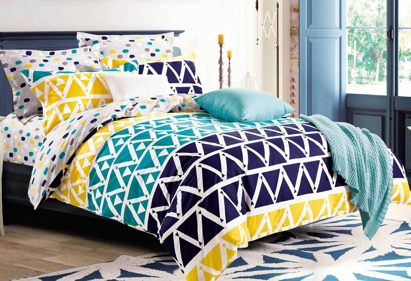 King Single Doona Cover Luxton Sunniva Cotton Quilt Cover Set Queen Or King