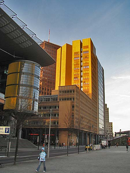 Kohlbecker Debis Building B1 - Potsdamer Platz, Berlin, Germany