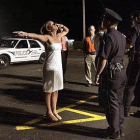 File photo: Field sobriety checkpoint.