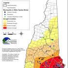 Statewide drought conditions are currently affecting southern New Hampshire the most,.