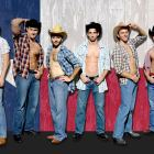 "Equal time for the sexy guys in this production of ""The Best Little Whorehouse in Texas."""
