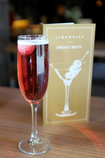 Kir Royal cocktail Manchester