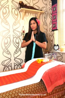 Jasmine owner of Thai Health & Beauty welcomes you
