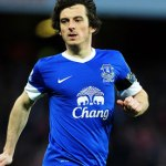 Everton's Leighton Baines has been linked with Manchester United all summer