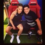 Adnan-With-Maradona