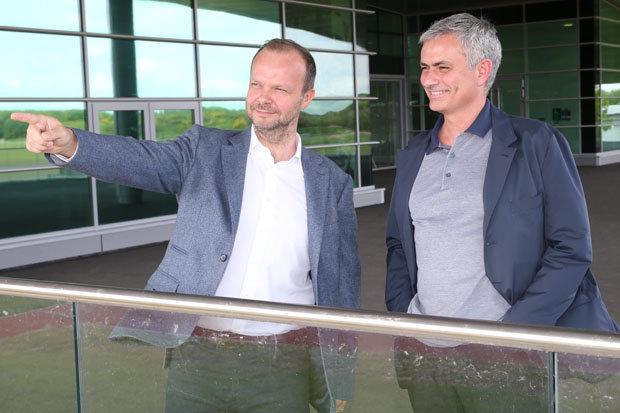 Ed Woodward Jose Mourinho 519910