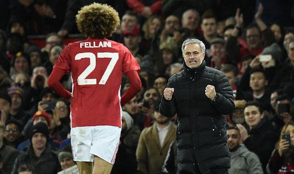 Fellaini Mourinho 855017