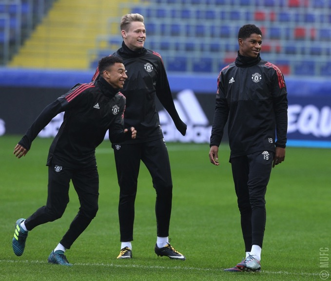 Gallery United train ahead of CSKA clash 10