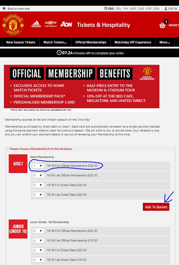 Official Membership