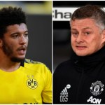 Jadon-Sancho-and-Ole-Gunnar-Solskjaer-dd44