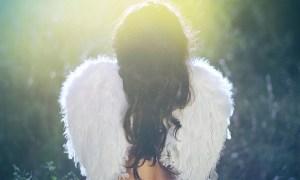 ангел крылья