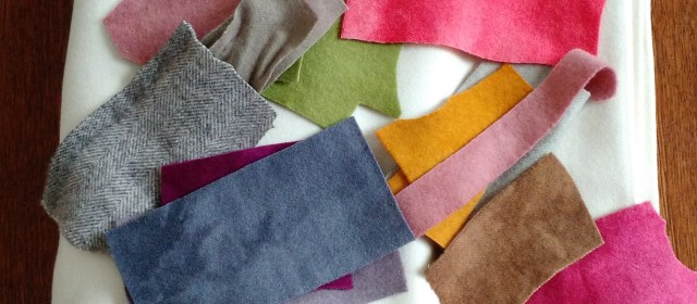Wool Appliqué: Finding your wools and threads