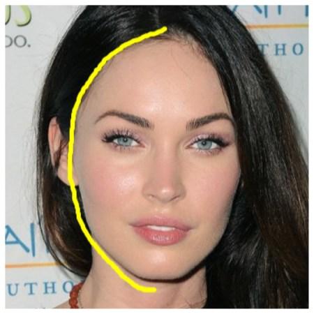 Low Hairline Bangs
