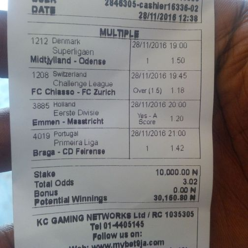 Many Won Recently, BET9JA BETTING CODES, Today 22nd Dec 2016 Sure Games