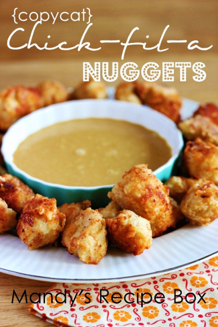 {Copycat} Chick-fil-a Nuggets   Mandy's Recipe Box