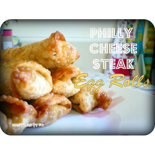 Medium Crop Of Philly Cheesesteak Egg Rolls