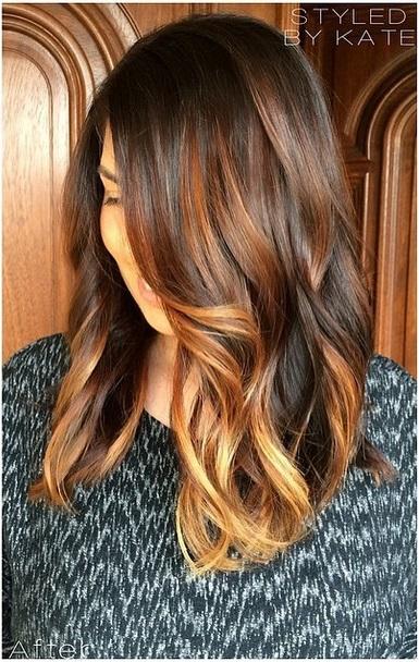 brunette with highlights hair color ideas  Mane Interest
