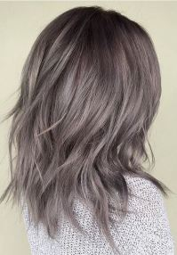 Metallic Pearl Gray  Mane Interest