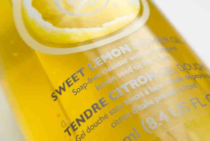The Body Shop Sweet Lemon Shower Gel 1 The Body Shop Sweet Lemon Shower Gel