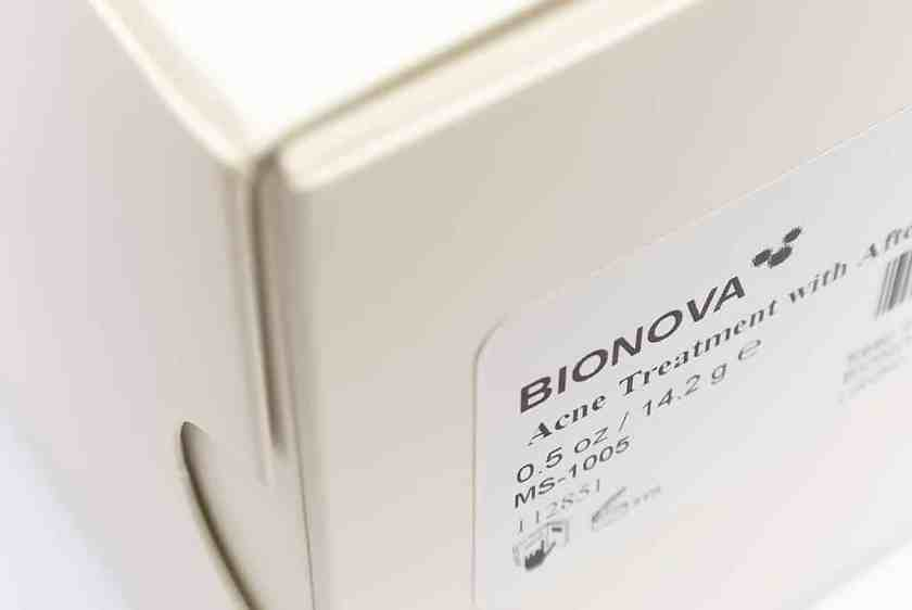 Bionova Acne Treatment 1 Bionova Acne Treatment + After Shaving
