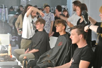 London Collections Men with Fudge Hair: Monday