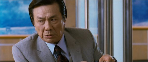 A screen shot of Chu Ke-liang from the movie.