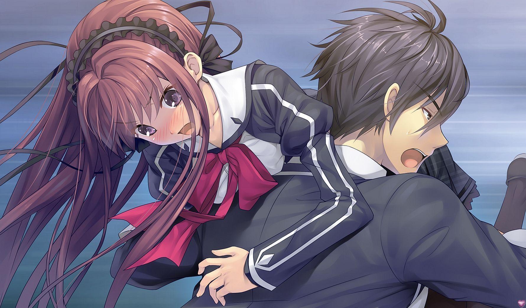 Boy Girl Kiss Love Wallpapers Image Manga En Colere
