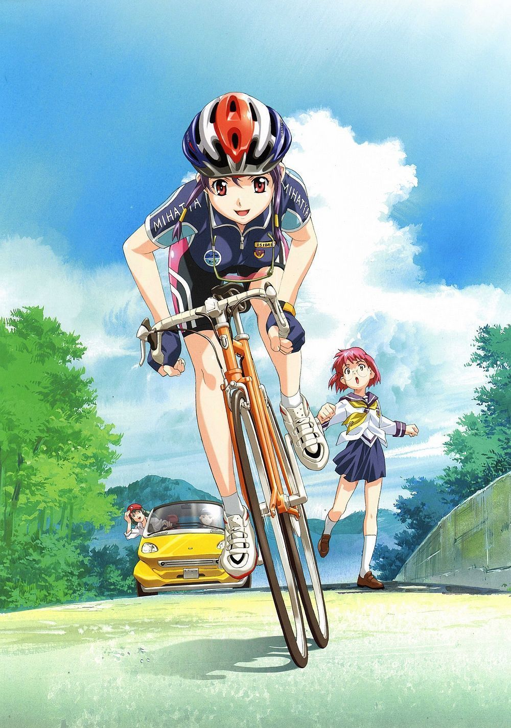 Boy And Girl On Bike Wallpaper Manga Et Sport Page 4