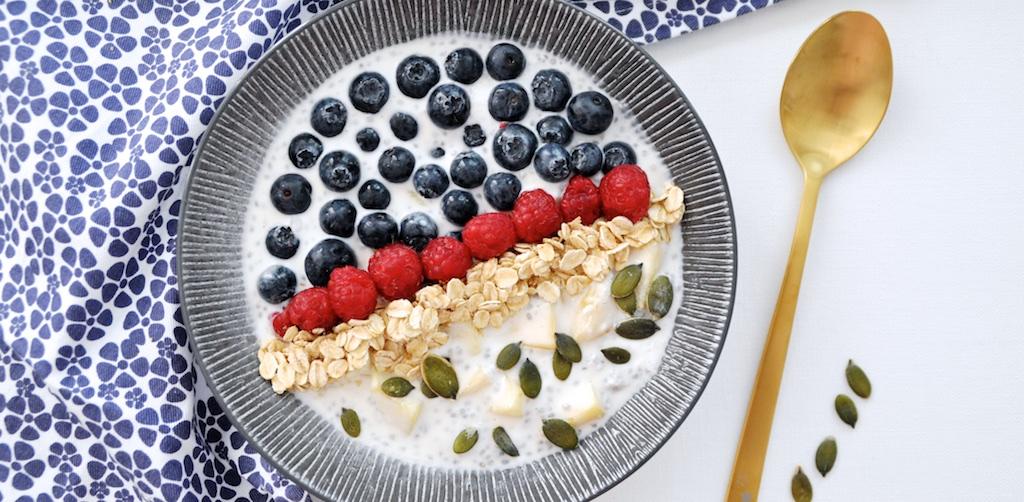 Pudding de Chia Petit Déjeuner